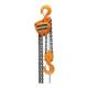 HARRINGTON CB Hand Chain Hoist, 1 ton Load, 10 ft Lifting Height, 11-5/8 in, 1-7/64 in Hook, 58 lb